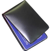 CUMBERLAND NOTEBOOK RULED TOP OPENING PERFORATED WITH PVC COVER 72 X 115MM BLACK