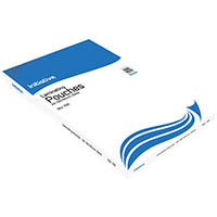 INITIATIVE LAMINATING POUCH 100 MICRON A4 CLEAR PACK 100