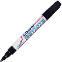 ARTLINE 47 WETRITE PERMANENT MARKER 1.5MM BULLET BLACK