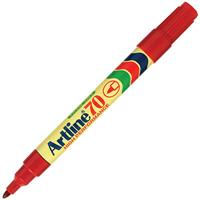 ARTLINE 70 PERMANENT MARKER 1.5MM BULLET RED