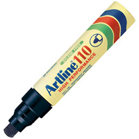 ARTLINE 110 PERMANENT MARKER 4MM BULLET BLACK