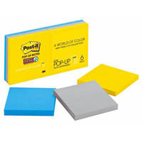 POST-IT R330-6SSNY POP-UP NOTES 76 X 76MM NEW YORK PACK 6