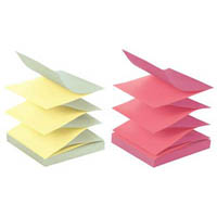 POST-IT R330-U-ALT POP-UP NOTES 76 X 76MM ALTERNATING ULTRA COLOURS PACK 12
