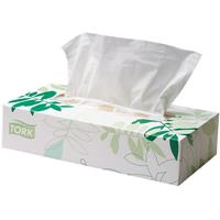 TORK EXTRA SOFT FACIAL TISSUES 2 PLY BOX 100