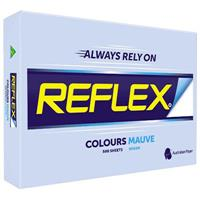 REFLEX COLOURS A3 COPY PAPER 80GSM MAUVE PACK 500 SHEETS