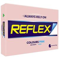 REFLEX COLOURS A3 COPY PAPER 80GSM PINK PACK 500 SHEETS