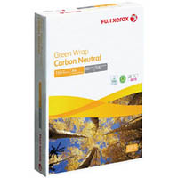 FUJI XEROX A4 GREEN WRAP 50% RECYCLED COPY PAPER 80GSM WHITE PACK 500 SHEETS