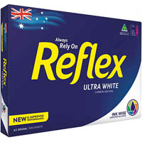 REFLEX A3 ULTRA WHITE COPY PAPER 80GSM WHITE PACK 500 SHEETS