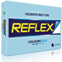 REFLEX COLOURS A4 COPY PAPER 80GSM BLUE PACK 500 SHEETS
