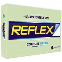 REFLEX COLOURS A4 COPY PAPER 80GSM GREEN PACK 500 SHEETS