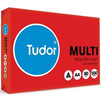TUDOR A4 10% RECYCLED COPY PAPER 80GSM WHITE PACK 500 SHEETS