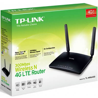 TP-LINK TL-MR6400 300MBPS WIRELESS N 4G LTE ROUTER | Barkers
