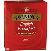 TWININGS TEABAGS ENGLISH BREAKFAST PACK 100