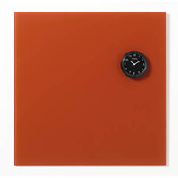 NAGA GLASSBOARD SUPER STRONG MAGNETIC CLOCK 80MM BLACK