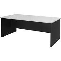 OXLEY DESK 1500 X 750 X 730MM WHITE/IRONSTONE