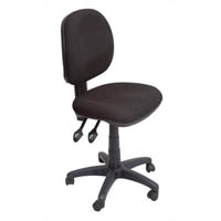 OPD OPERATORS CHAIR MEDIUM BACK BLACK
