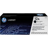 HP Q2612A NO 12A TONER CARTRIDGE BLACK
