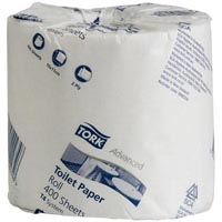 TORK ADVANCED TOILET TISSUE 2 PLY 400 SHEETS